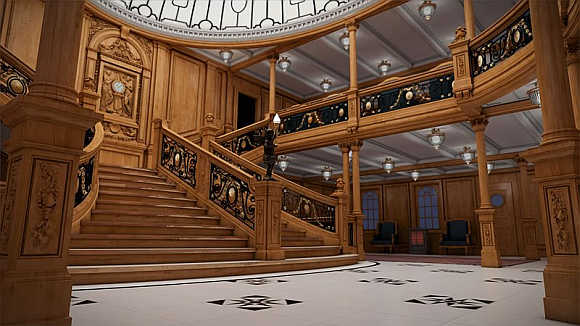 A view of the grand staircase.
