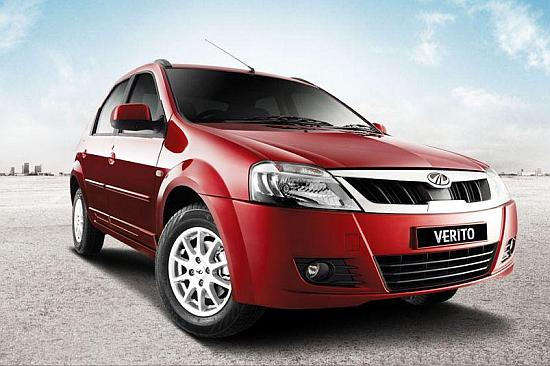 Mahindra Verito. Buyers can look forward to 5 - 10 per cent discount on most manufacturers.