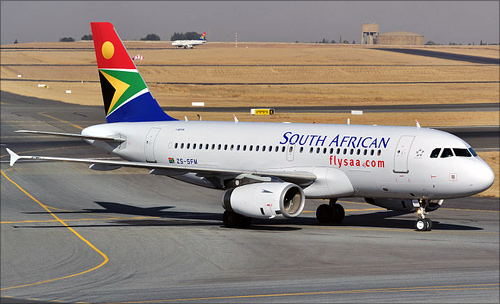 South African Airlines.