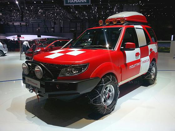 Tata Safari Storme Mountain Rescue.