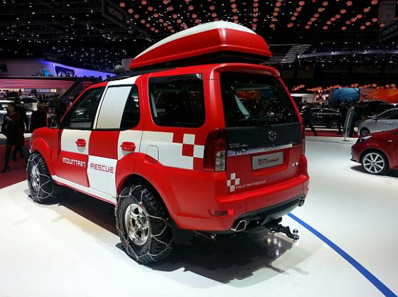 Tata unveils Safari Storme concept, facelifted Aria at Geneva