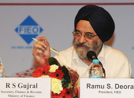Finance Secretary R S Gujral.