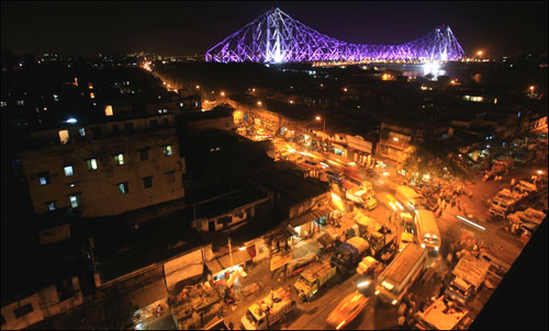 The city of Kolkata.