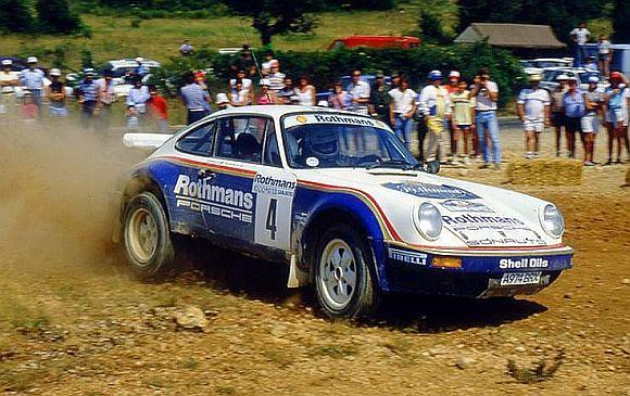 1984 Porsche 911.