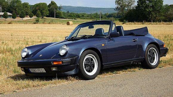 1986 Porsche 911.