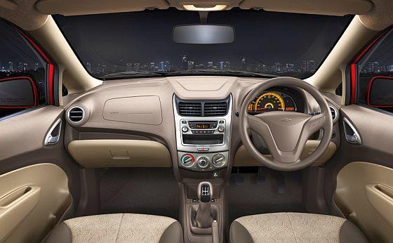 Interior of Chevrolet Sail U-VA.