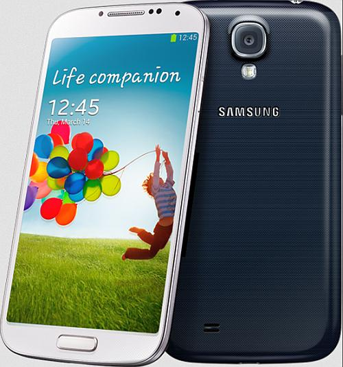 Galaxy S4 has a 13 megapixel back and 2MP front camera and supports both 3G and 4G networks.