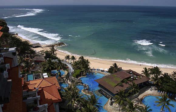 A resort in Nusa Dua, Bali.