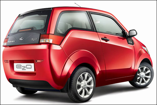 The Rs 5.96 lakh Mahindra electric car 'e2o'