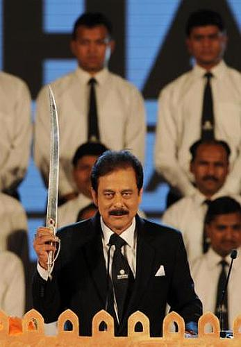 Subrata Roy, 'managing worker' and chairman, Sahara India Pariwar.