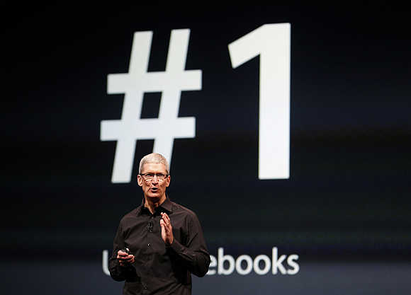 Tim Cook in San Francisco, California.