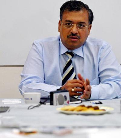 Sun Pharmaceutical Director Dilip Shanghvi. Large Indian pharma companies such as Sun Pharma have their infrastructure in place in the US.