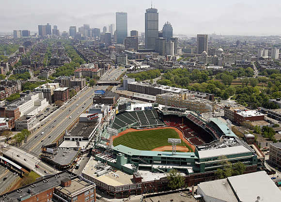 A view of Boston, Massachusetts, United States.
