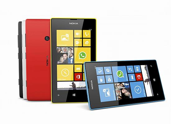 New Nokia Windows 8 phones.