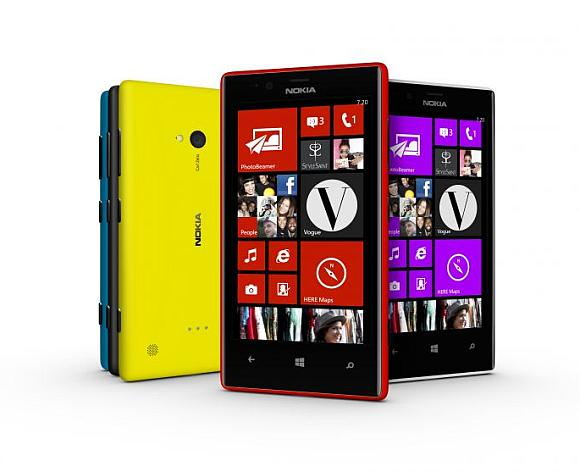 New Nokia Windows 8 smartphones.