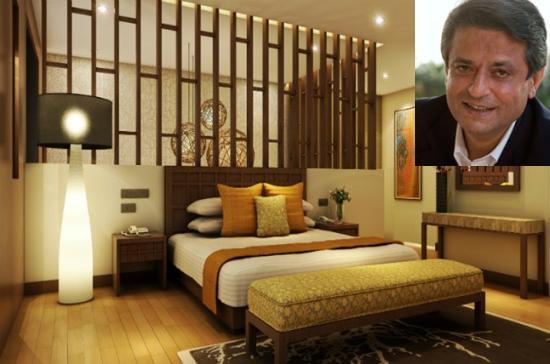 Patu Keswani, chairman and managing director, Lemon Tree Hotels in the inset.