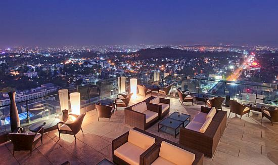 View from JW Marriott Hotel ,Pune.