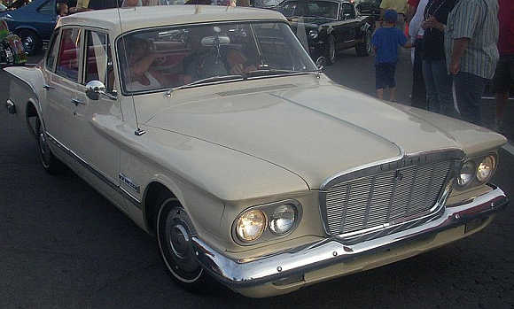 1960 Plymouth Valiant.