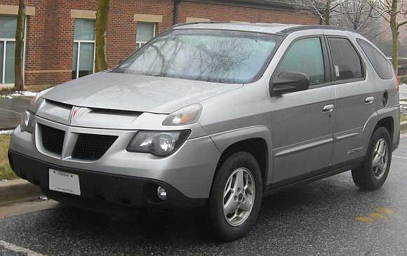 2001 Pontiac Aztek.