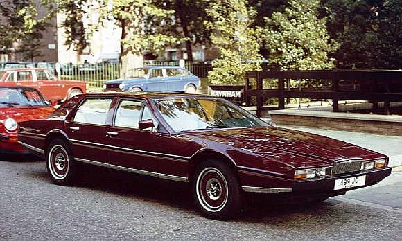 1982 Aston Martin Lagonda.