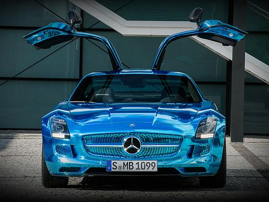 Mercedes-Benz SLS AMG Electric Drive.
