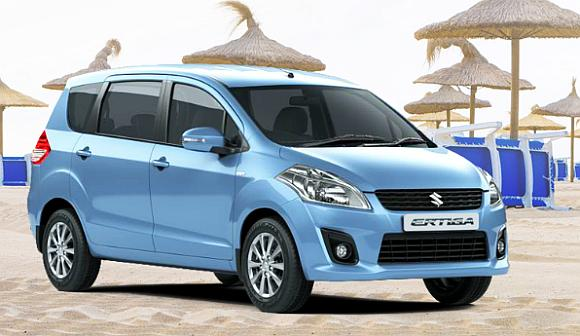 Maruti Suzuki Ertiga. The company has a combined order backlog of 83,000 for the Swift, DZire and Ertiga.