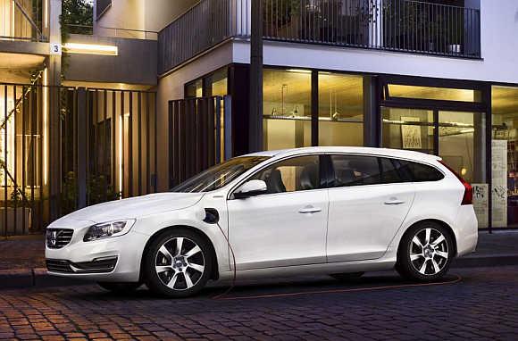 Volvo's V60 Plug-in Hybrid.