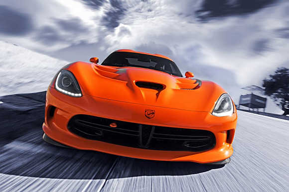 Dodge  2014 SRT Viper Time Attack.