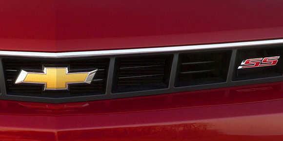 2014 Chevy Camaro SS.