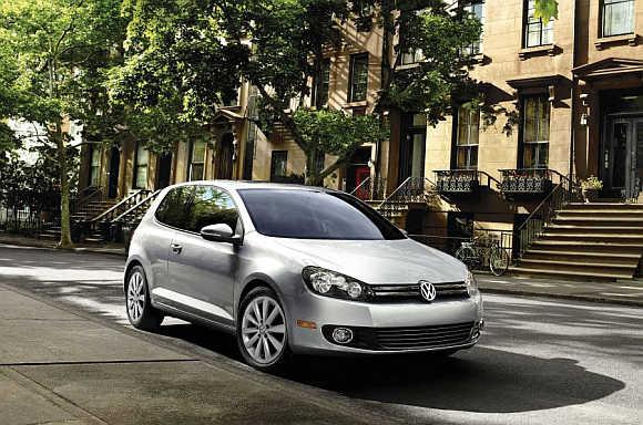 2013 VW Golf.