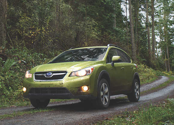 Subaru XV Crosstrek Hybrid.