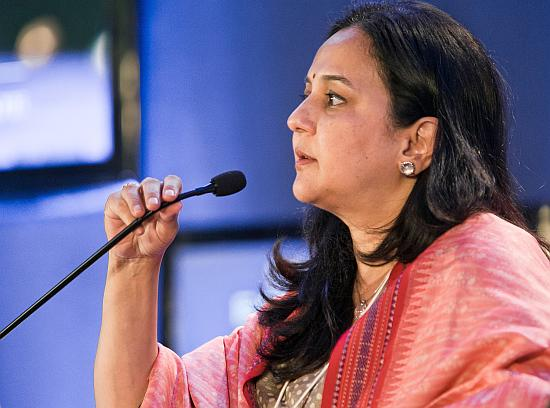 Rohini Nilekani, Infosys co-founder Nandan Nilekani's wife.