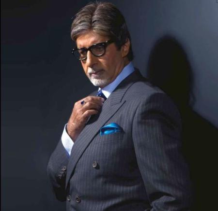 Reid & Taylor brand ambassador Amitabh Bachchan.