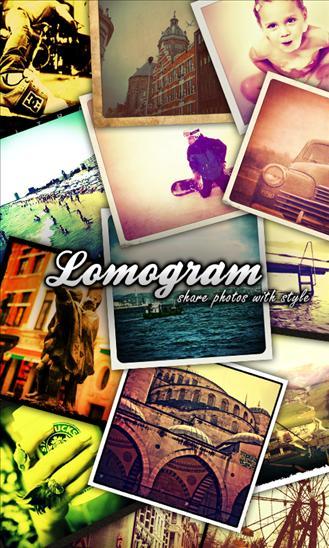 Screenshot of Lomogram.