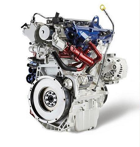 Fiat's 1.3 litre MultiJet diesel engine.
