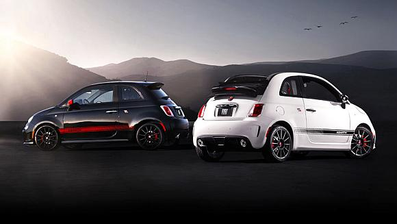Fiat's 500 Abarth and 500 Abarth Cabrio.
