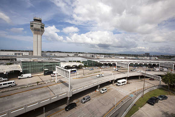 A view of the Luis Munoz Marin international airport in San Juan, Puerto Rico.