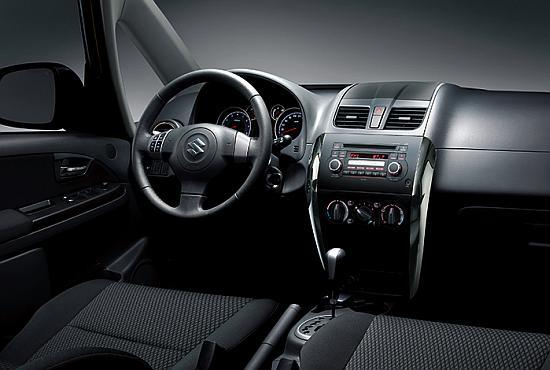Interior of SX4.