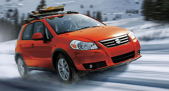 SX4 AWD Crossover.