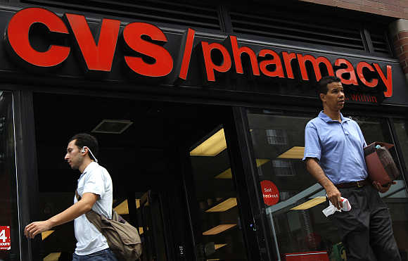 A CVS pharmacy in New York City.