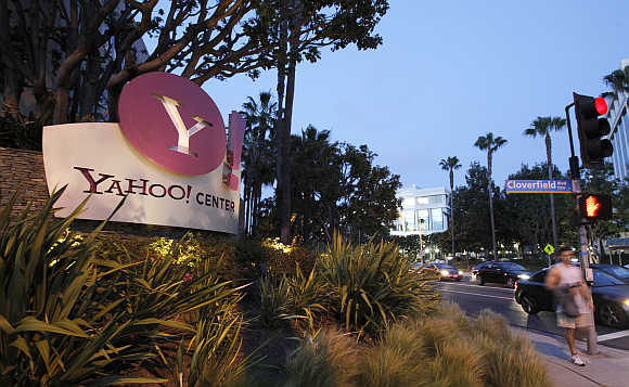 Yahoo! offices in Santa Monica, California.