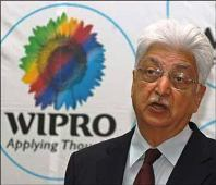 Wipro chief Azim Premji