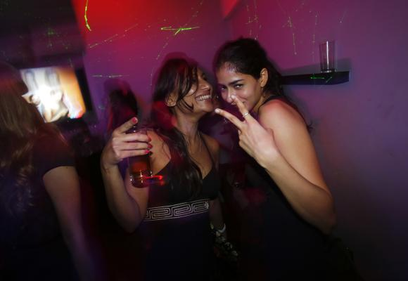 Malini Agarwal (L), blogger-in-chief of missmalini.com. Agarwal, 35, exemplifies what aspirational India is all about - she's bubbly, energetic, and describes herself as