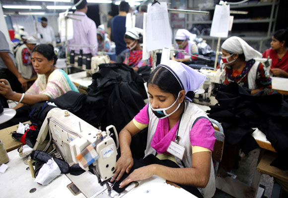 How textile kings weave a hold on Bangladesh - Rediff com