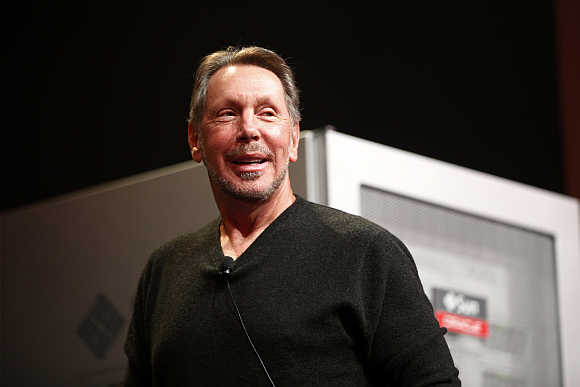 Entrepreneur Larry Ellison was given up for adoption by his mother.