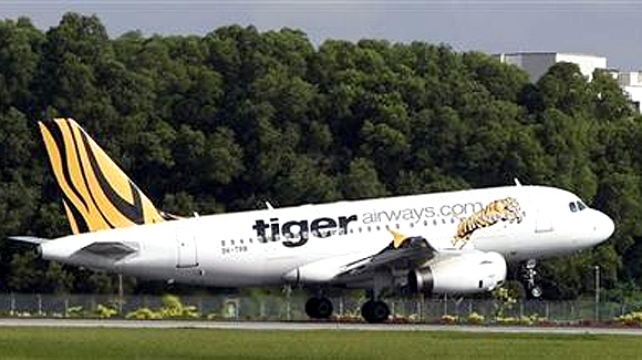 Tiger Airways.