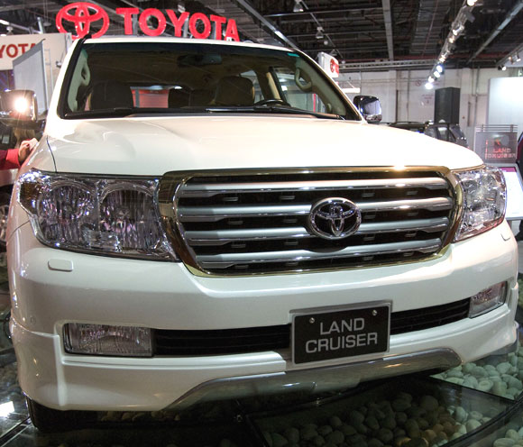 Toyota Land Cruiser.