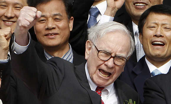 Warren Buffett is the latest businessman to join Twitter.