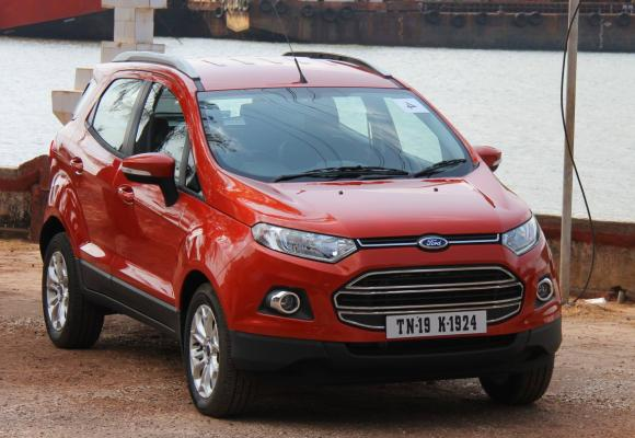 Ford EcoSport is made for Indian roads
