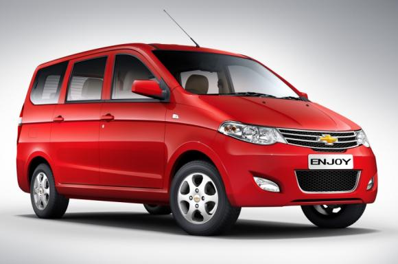 Chevrolet's Enjoy to take on Maruti's Ertiga